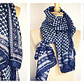 ANTIK BATIK, le foulard ...