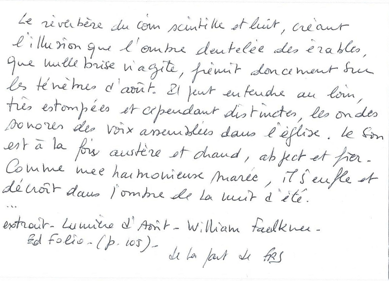 Lumière d'août extrait (page 105)