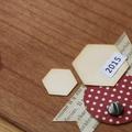 Cartes de voeux en bois