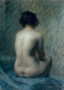 Nude by Marc-Aurele de Foy Suzor-Cote (Canadian, 1869 - 1937) 5-