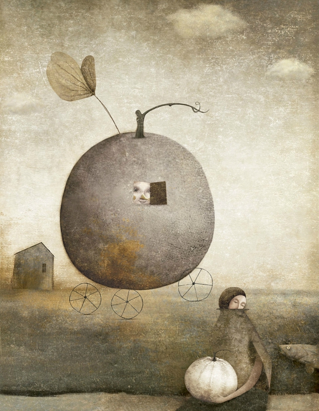 Gabriel Pacheco 1973 - Mexican Surrealist Visionary painter - Tutt'Art@ (68)
