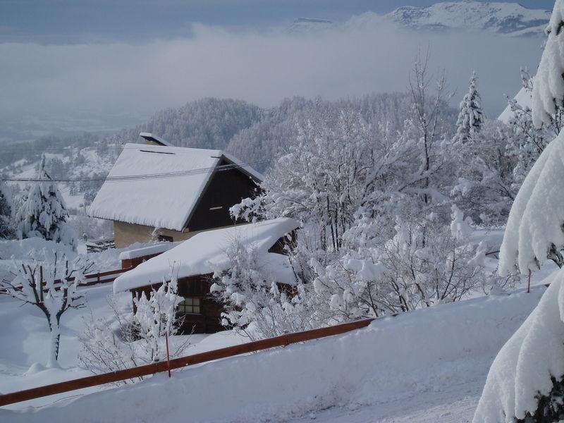 Le Champsaur enneigé (Chaillol 1600, décembre 2004)