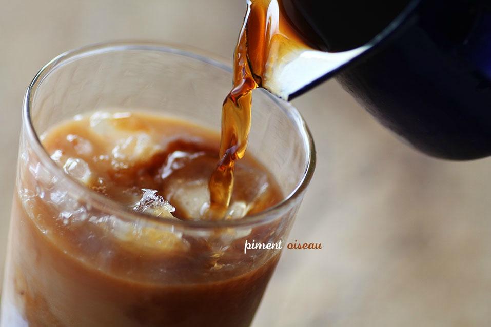 Café glacé au lait de soja