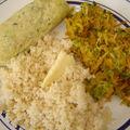 Quenelles de poisson aux petits légumes