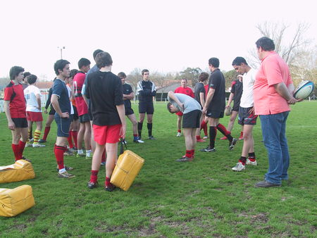 Rugby - Vaucluse Rencontres XV B darrides