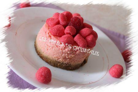 Cheesecake fraise framboises 12