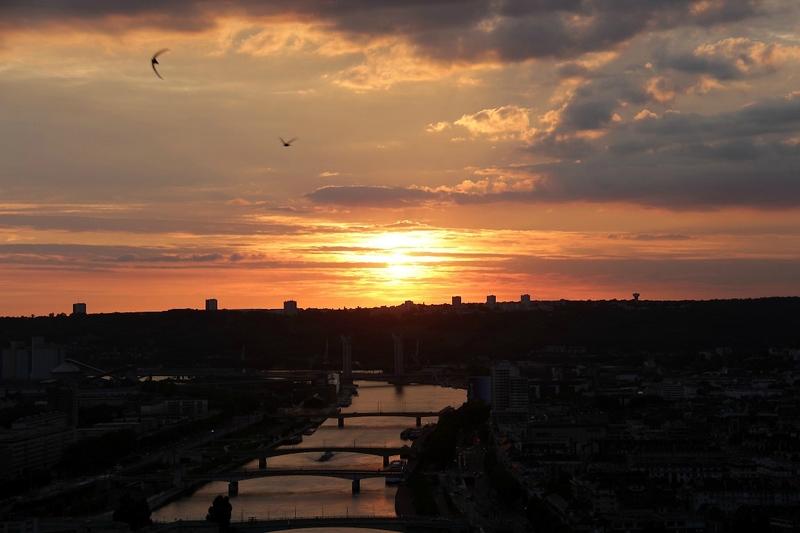 12-Rouen, coucher soleil_1909