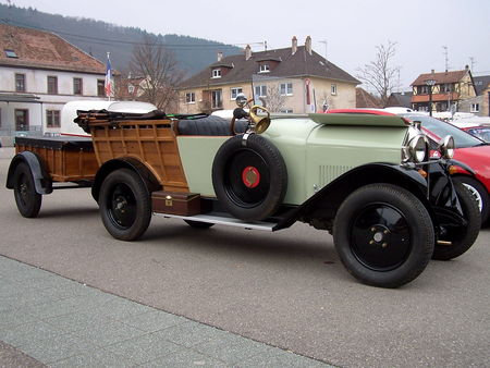 MATHIS M Normande chassis long 1924 Bourse Echanges Auto Moto de Chatenois 2009 2