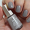 Review : vernis moon grey de mavala