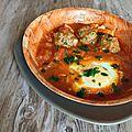 kefta de bœuf et sauce tomate pesillée