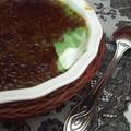 Crème brûle à la pistache