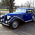 Delahaye type 135M coach guillor de 1937 (Retrorencard mars 2011) 01