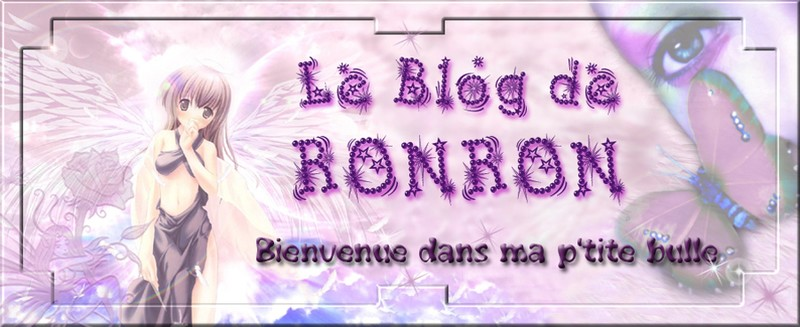 Bannière de mon blog
