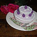 Gros gâteau d'anniversaire!