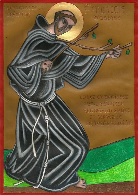 St François chantre de la création