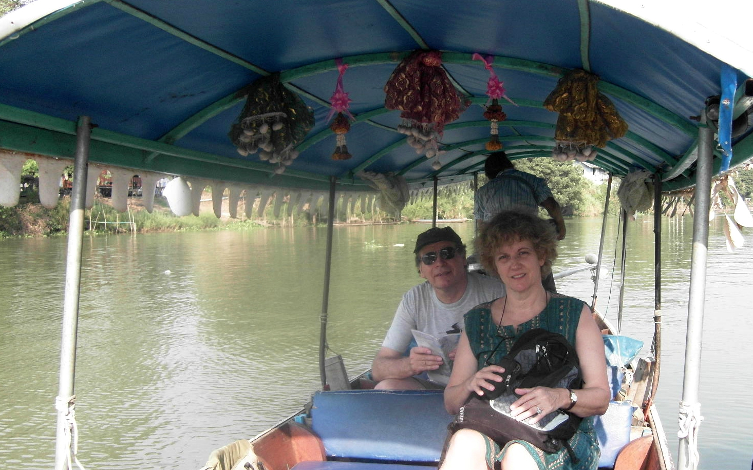 AYUTHAYA - balade bateau