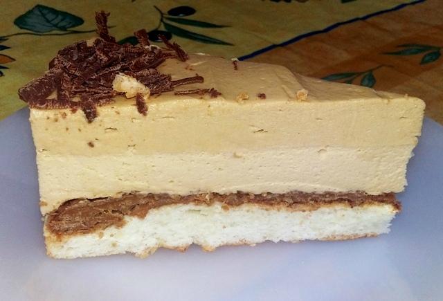 Part entremet Speculoos caramel au beurre salé