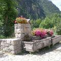 Fontaine à prapic dans les hautes-alpes