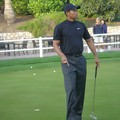 tiger woods au putting