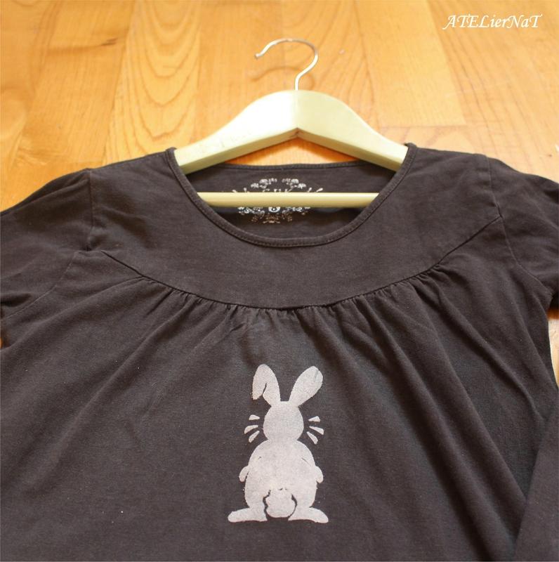 Custo t-shirt lapin4