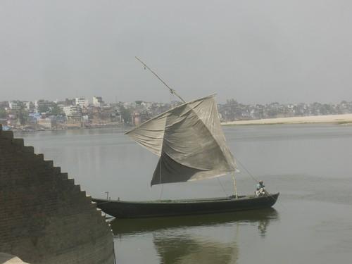 Varanasi, le Gange