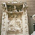 Paris, musée d'Orsay, Rodin, la Porte de l'Enfer (75)