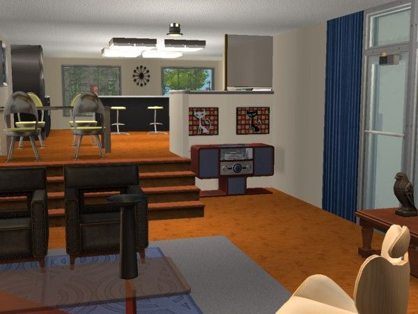 villa modernissime maisons deco sims2. Black Bedroom Furniture Sets. Home Design Ideas
