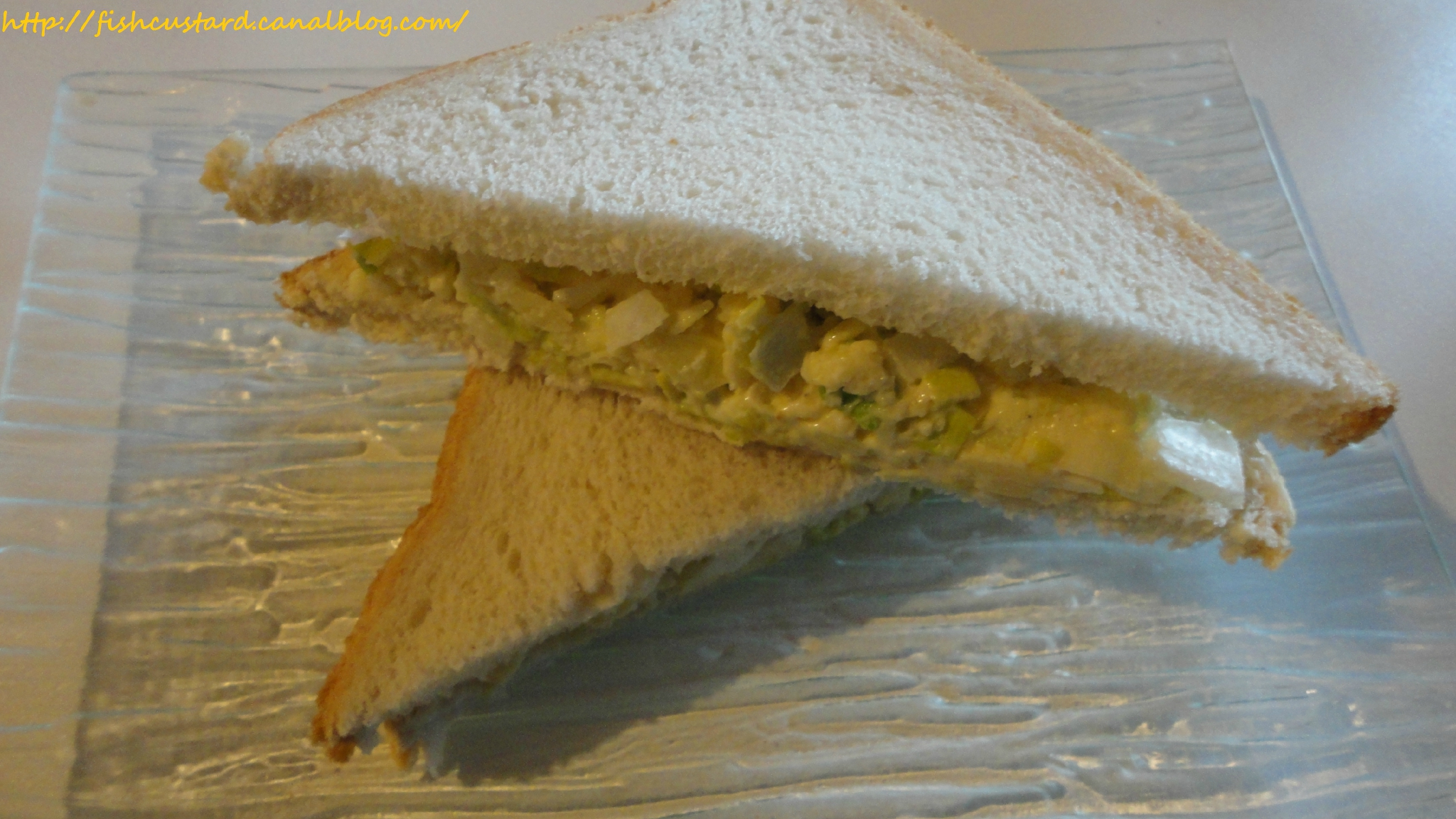 Cheese and Onion sandwich