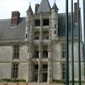 L'escalier à loggias du Château de Châteaudun