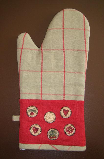 Appliqués sur gant pour Yulie (colis automne)