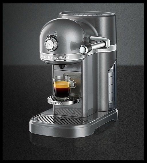 machine caf artisan nespresso kitchenaid le blog de moon. Black Bedroom Furniture Sets. Home Design Ideas