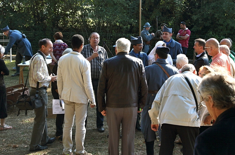COMMEMORATION 14-18 THIERACHE HISTOIRE VIVANTE visiteurs