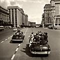 """Moscow """"Sputnik Fever"""" 1957"""