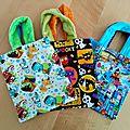 Petits sacs pour halloween...