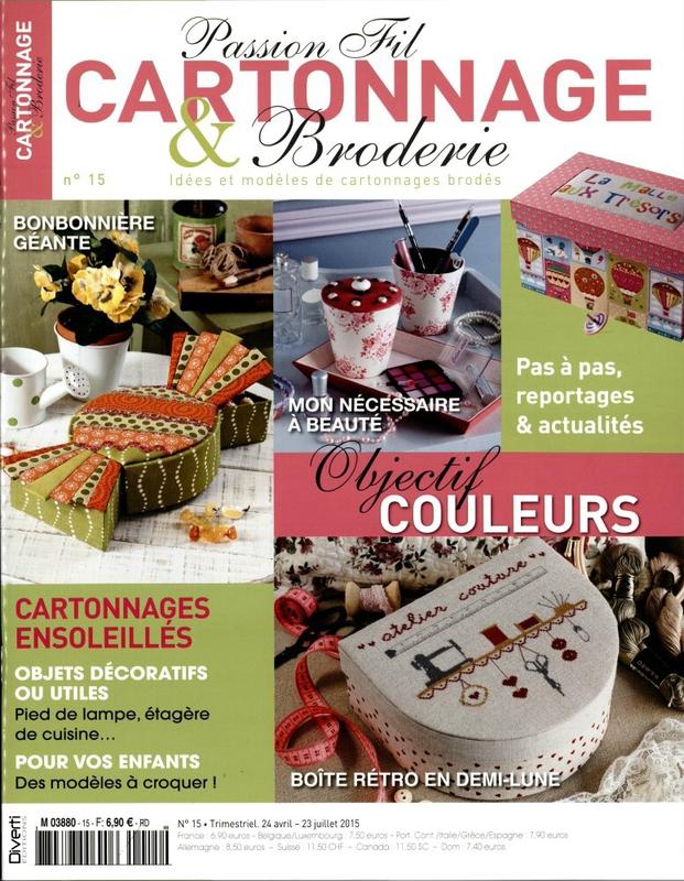 Passion Fil Cartonnage et Broderie n° 15