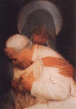 marie et le pape
