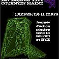 Rassemblement anti ligne tht cotentin-maine dimanche 11 mars 2012 à villedieu (50) et ernée (53)
