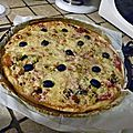 Pizza au thon tarte revolution