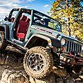 Édition spéciale 10ème anniversaire pour le jeep wrangler rubicon 2013 (cpa)