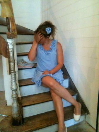 robe bleue 6