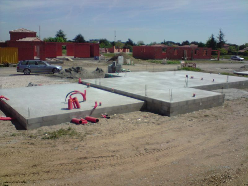 Local technique construction piscine for Construction piscine 41