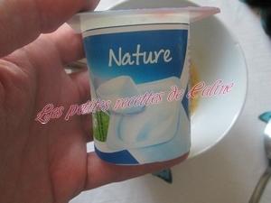 Bowl cake au yaourt vanillé et son coulis de mangue09