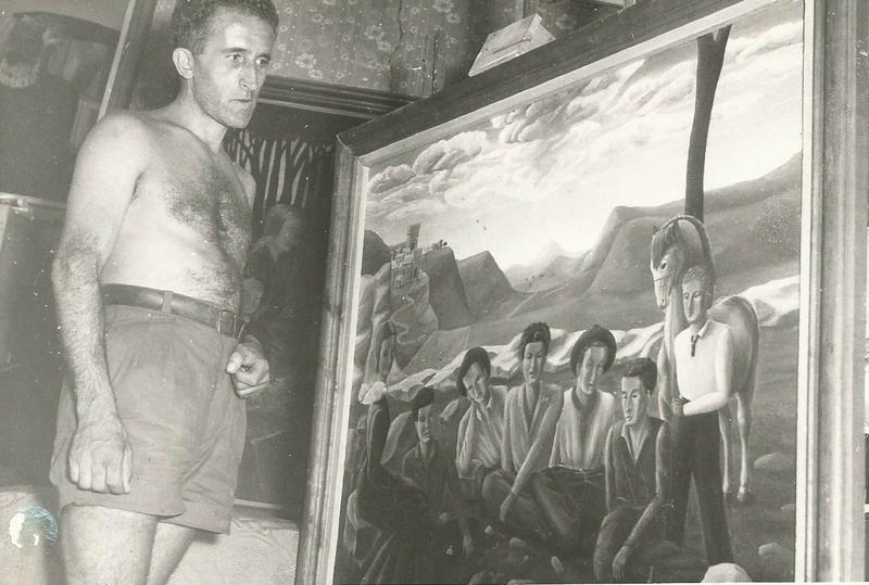 Serge devant les Ouvriers