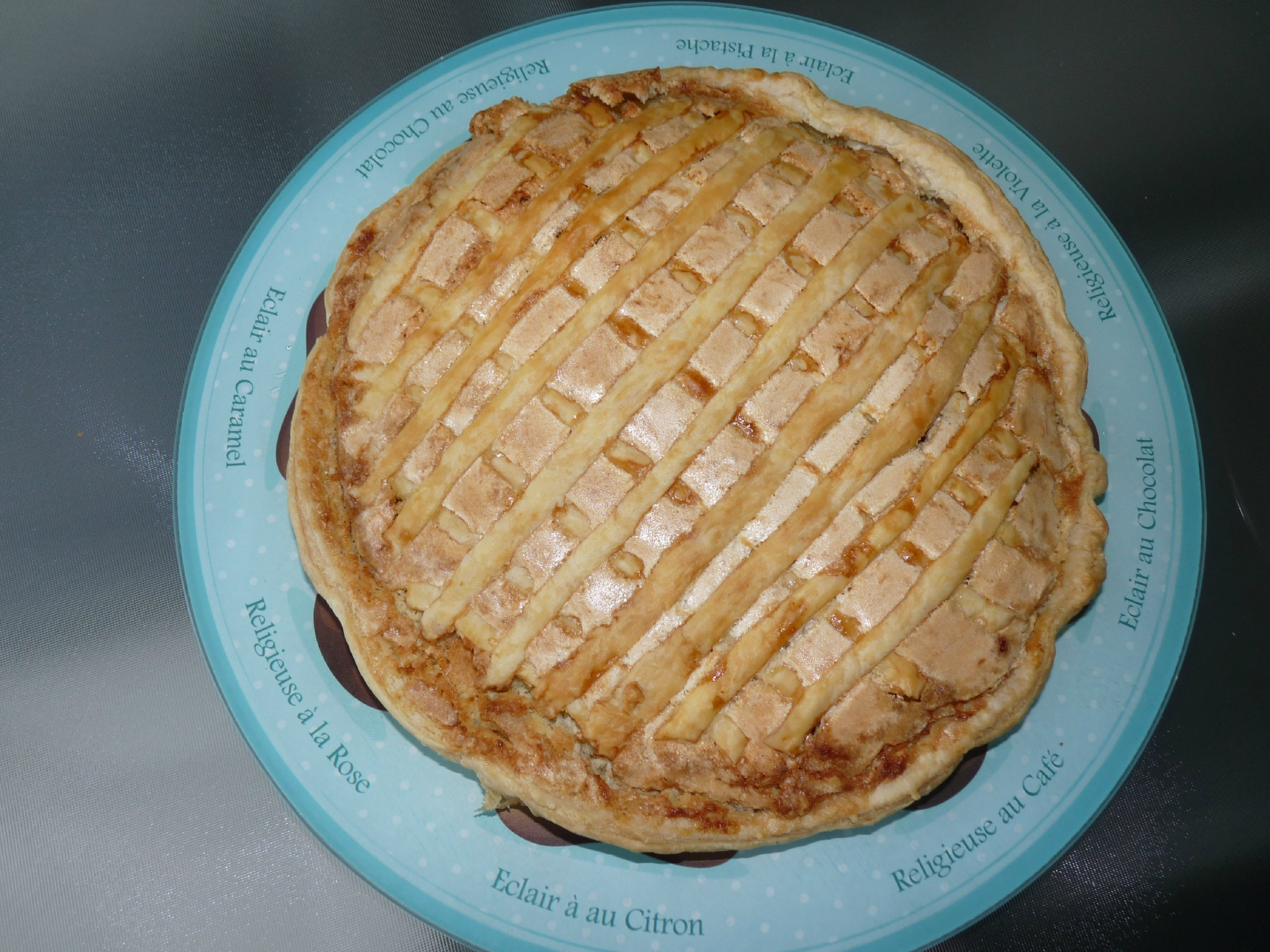 Tarte conversation au thermomix