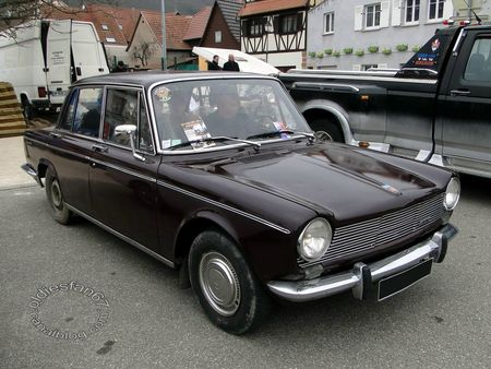 simca 1300 gls, 1966, Bourse de chatenois 2013 3