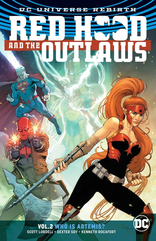 rebirth red hood and the outlaws vol 02 who is artemis TP