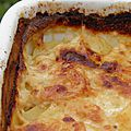 Accompagnement : gratin dauphinois