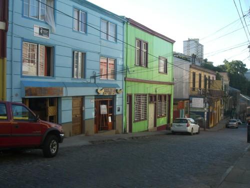 Valparaiso, Cerro Alegre et Conception