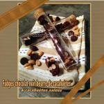 fudges chocolat noir beurre cacahuete et cacahuètes salées (scrap)