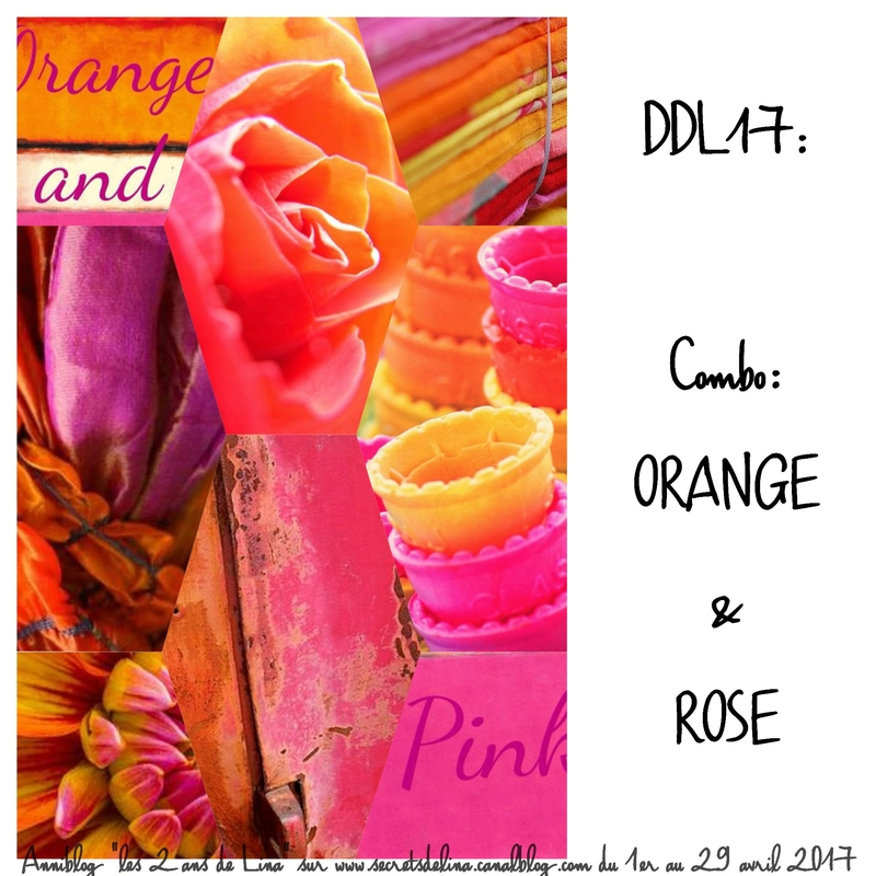 2017 04 - DDL17 Combo orange rose